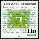 FRG MiNo. 1988 ** 50 years German Rural Womens Association, MNH