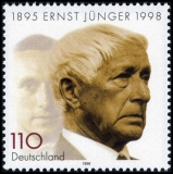 FRG MiNo. 1984 ** death of Ernst Jünger, MNH