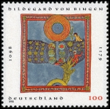 FRG MiNo. 1981 ** 900th birthday of Hildegard von Bingen, MNH