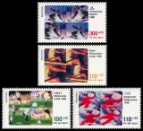 FRG MiNo. 1968-1971 set ** Sports Aid 1998, MNH