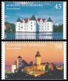 FRG MiNo. 2972-2973 set ** Castles and Palaces, MNH