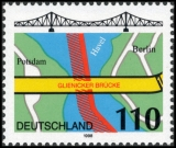 FRG MiNo. 1967 ** Bridges (II): Glienicker Bridge, Berlin, MNH