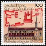 FRG MiNo. 1966 ** Cultural & Natural Heritage (V): Maulbronn Monastery, MNH