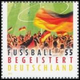 FRG MiNo. 2930 ** Football excited Germany, MNH