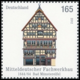 FRG MiNo. 2931 ** Half-timbered buildings in Germany (III), MNH