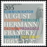 FRG MiNo. 2989 ** 350th birthday of August Hermann Francke, MNH