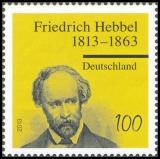 FRG MiNo. 2990 ** 200th anniversary of Friedrich Hebbel, MNH