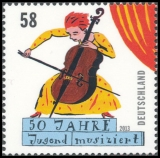 FRG MiNo. 2991 ** 50 years competition Jugend musiziert, MNH